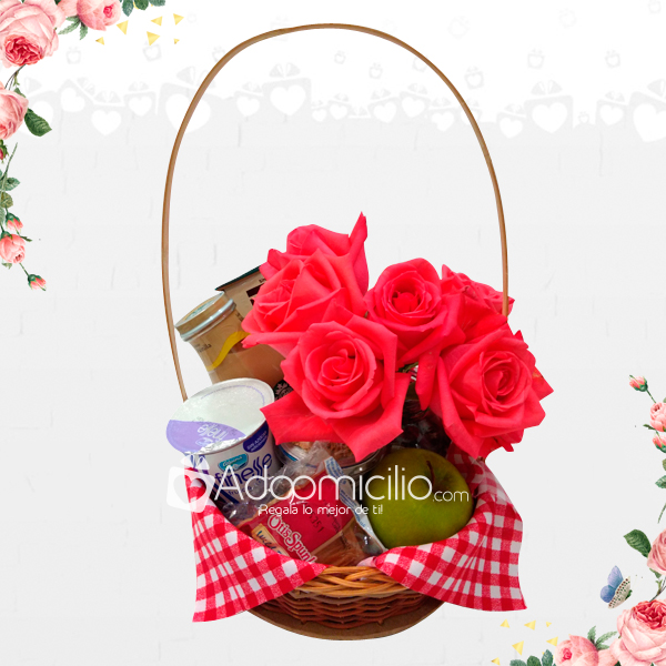 Basket For Mom Gift To Mothers Day Colombia